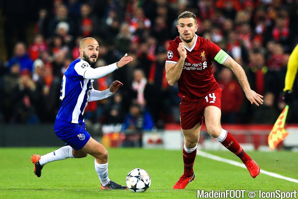Jordan Henderson sous les couleurs de Liverpool