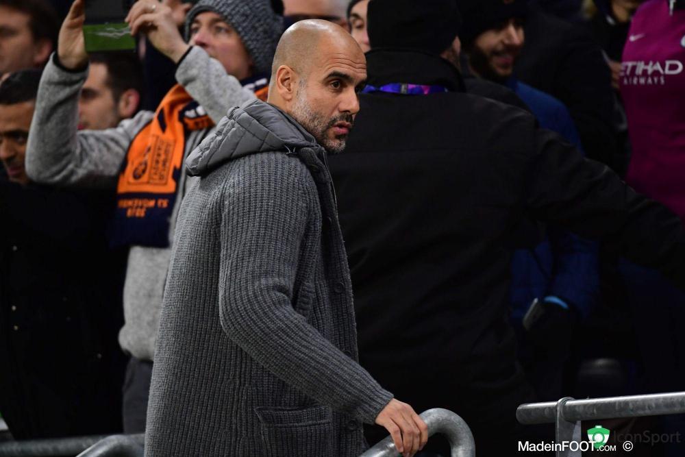 Guardiola ne pense pas que ses joueurs pourront échouer