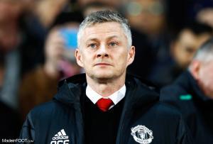 Ole Gunnar Solskjaer, l'entraîneur de Manchester United.