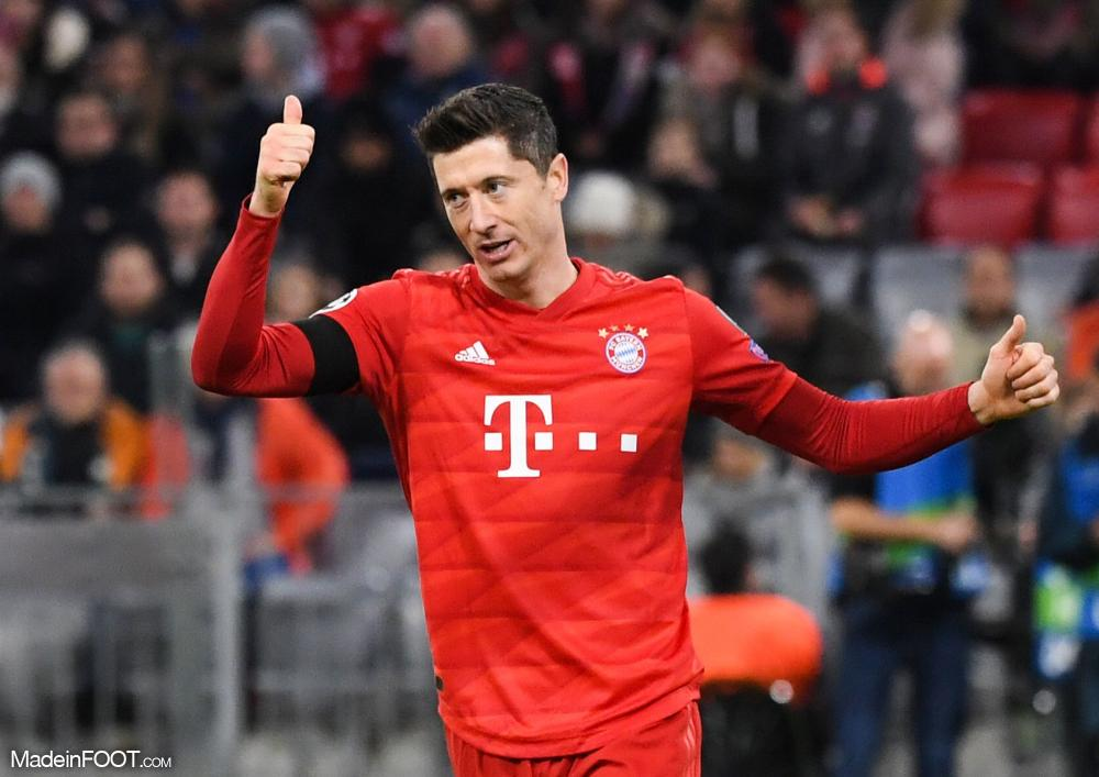 Lewandowski forfait pour le retour