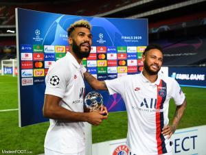 Neymar a offert son trophée à Choupo-Moting