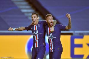 Di Maria et Neymar (PSG)