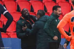 Achille Webo, l'entraîneur adjoint de l'Istanbul Basaksehir.