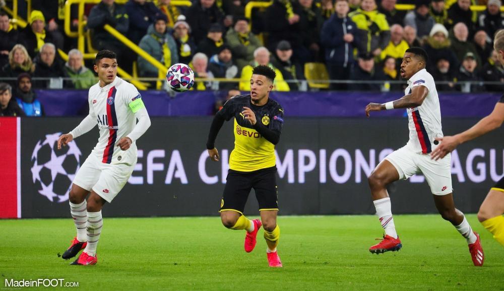 Les chiffres du match entre Dortmund et le PSG