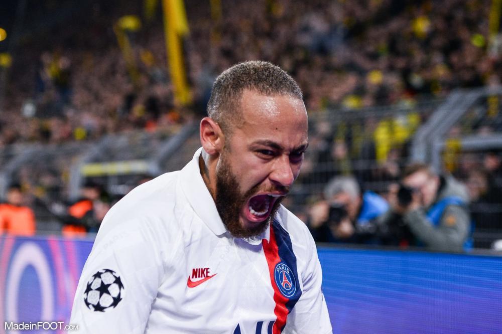 Neymar avait inscrit face à Dortmund le but de la qualification pour les quarts de finale de la Ligue des Champions 2020
