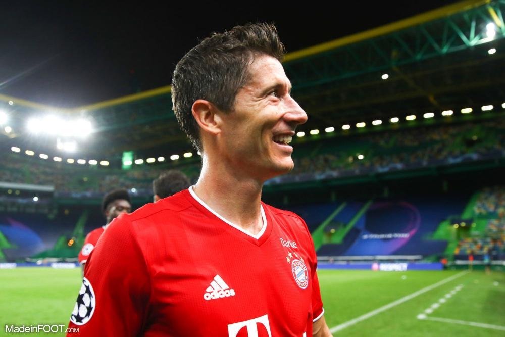 Robert Lewandowski absent pour le match retour contre le PSG