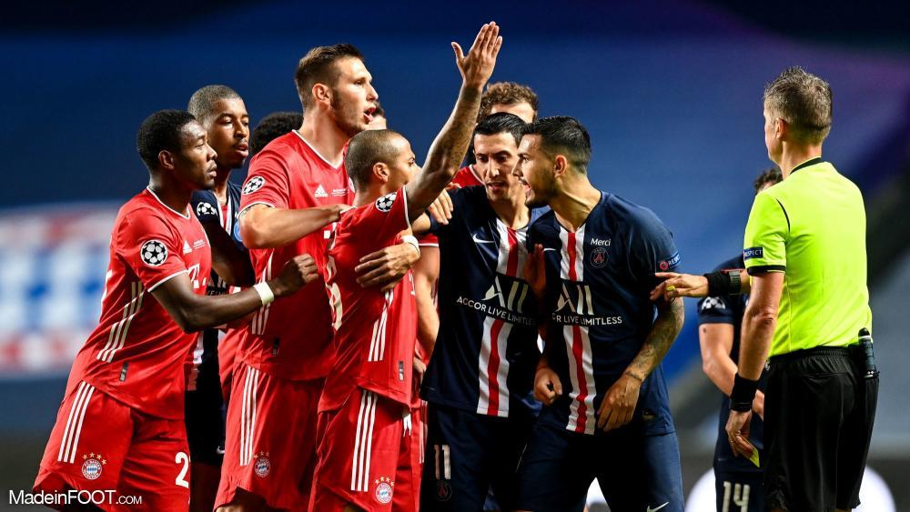 Paris lors de la finale contre le Bayern