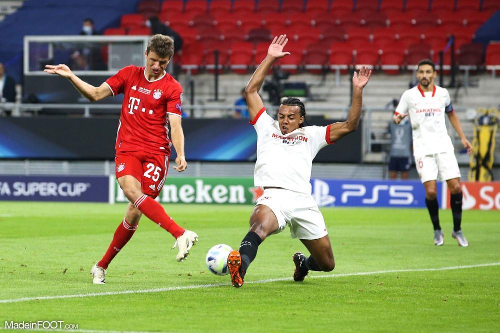 Thomas Müller pas satisfait du rendement offensif du Bayern hier