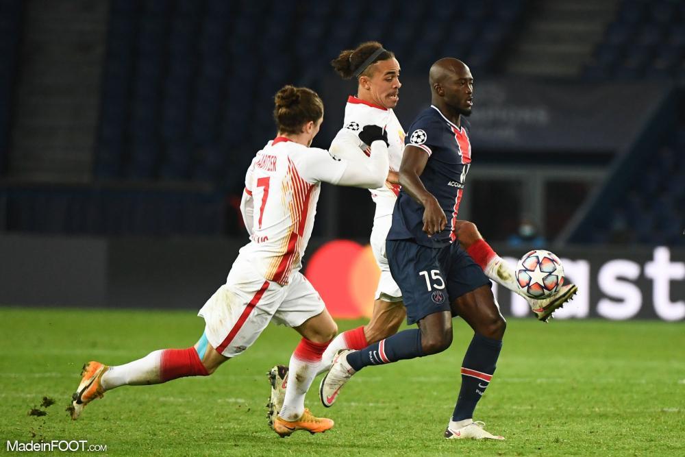 Danilo Pereira a particpé à toutes les rencontres du PSG en Ligue des Champions cette saison