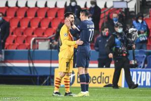 Messi (Barça), Di Maria (PSG)