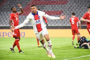 Kylian Mbappé en Ligue des Champions