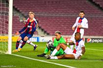 Keylor Navas, Presnel Kimpembe, Florenzi (PSG), De Jong (Barça)