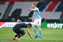 Di Maria (PSG), De Bruyne (Manchester City)