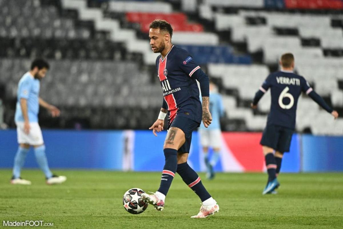 Neymar prend la parole après la défaite face à Man City