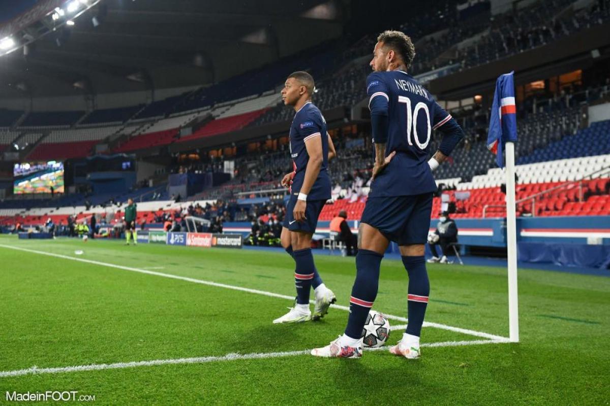 Neymar (PSG) aura la lourde tâche de mener l'attaque parisienne face à Manchester City.