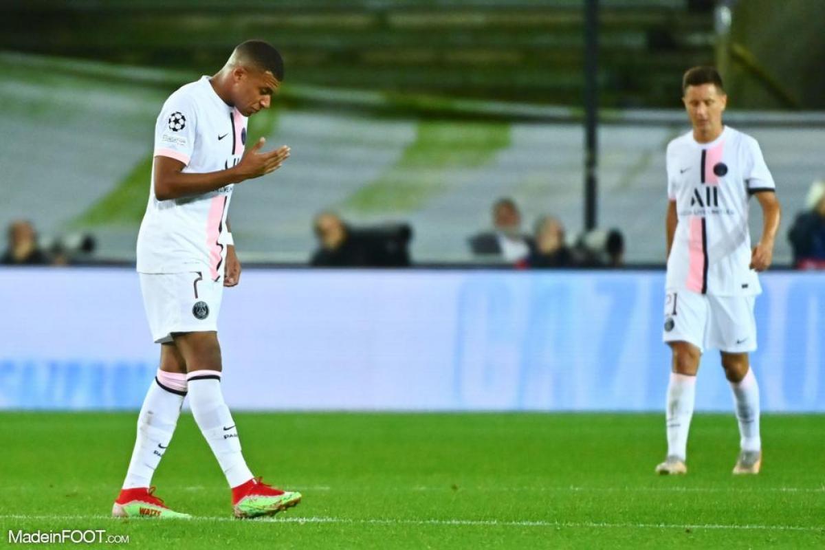 Kylian Mbappé s'est blessé face à Bruges