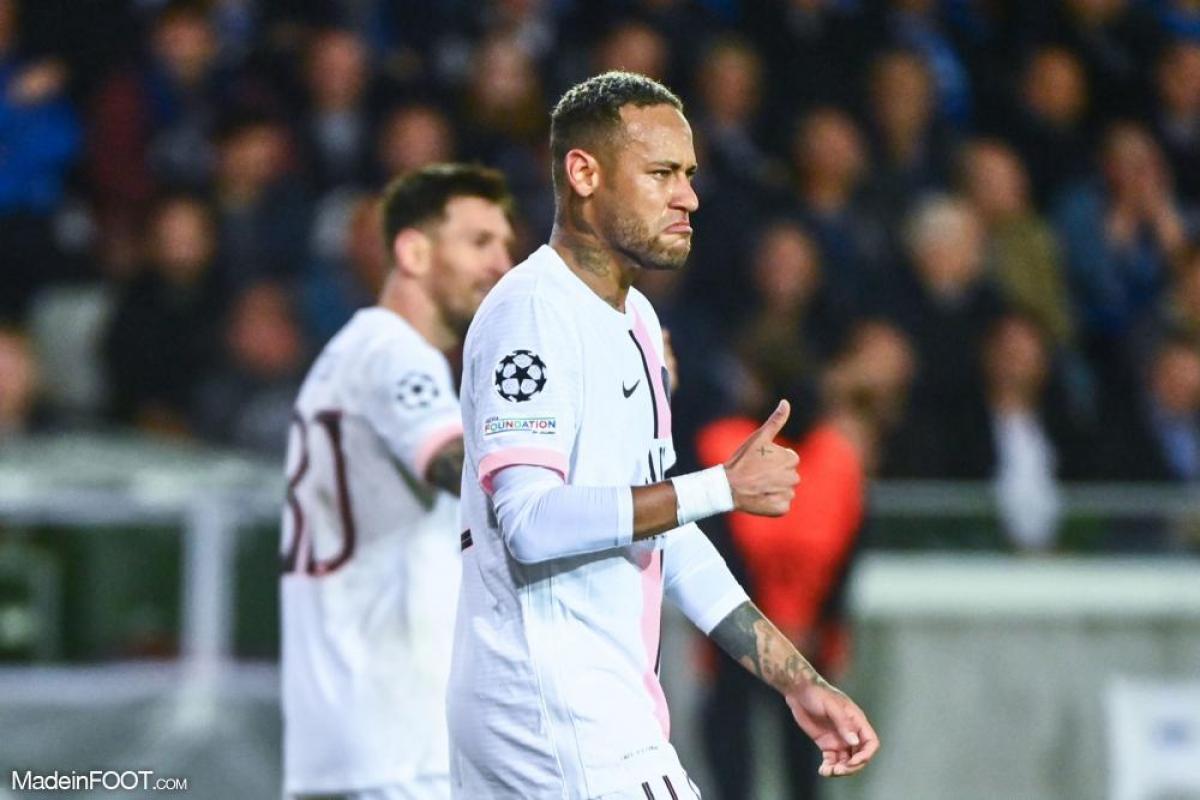 Neymar avec Paris