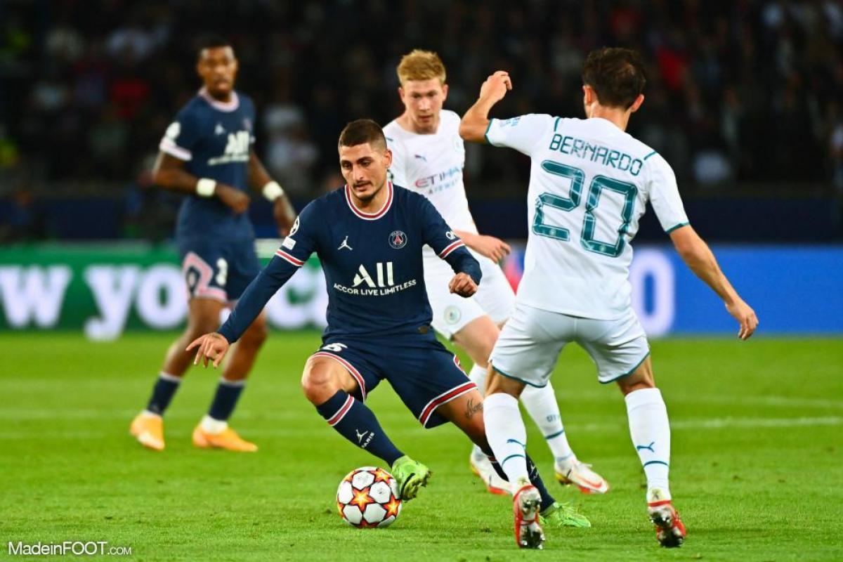 Face à Manchester City, Marco Verratti a réalisé une prestation majuscule