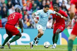 Danilo Pereira, le milieu de terrain du PSG, ici sous les couleurs du Portugal.
