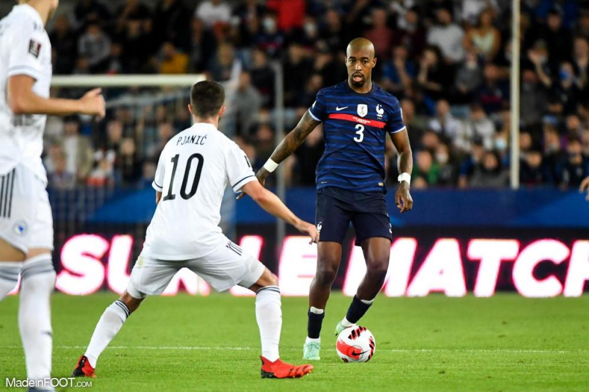 Kimpembe avec la France