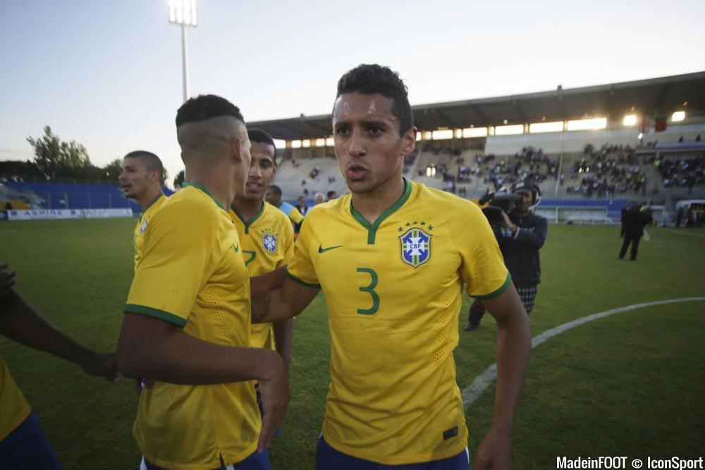 Marquinhos était titulaire contre Haïti.