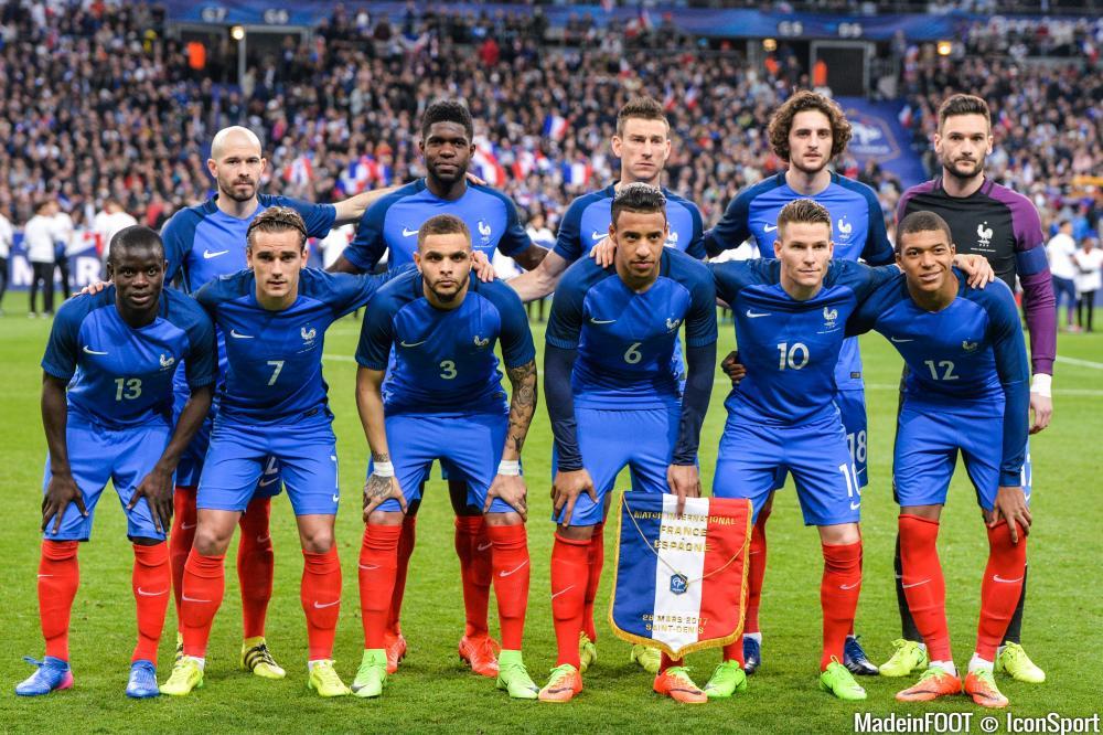 Les compos officielles du match amical entre la France et le Paraguay.