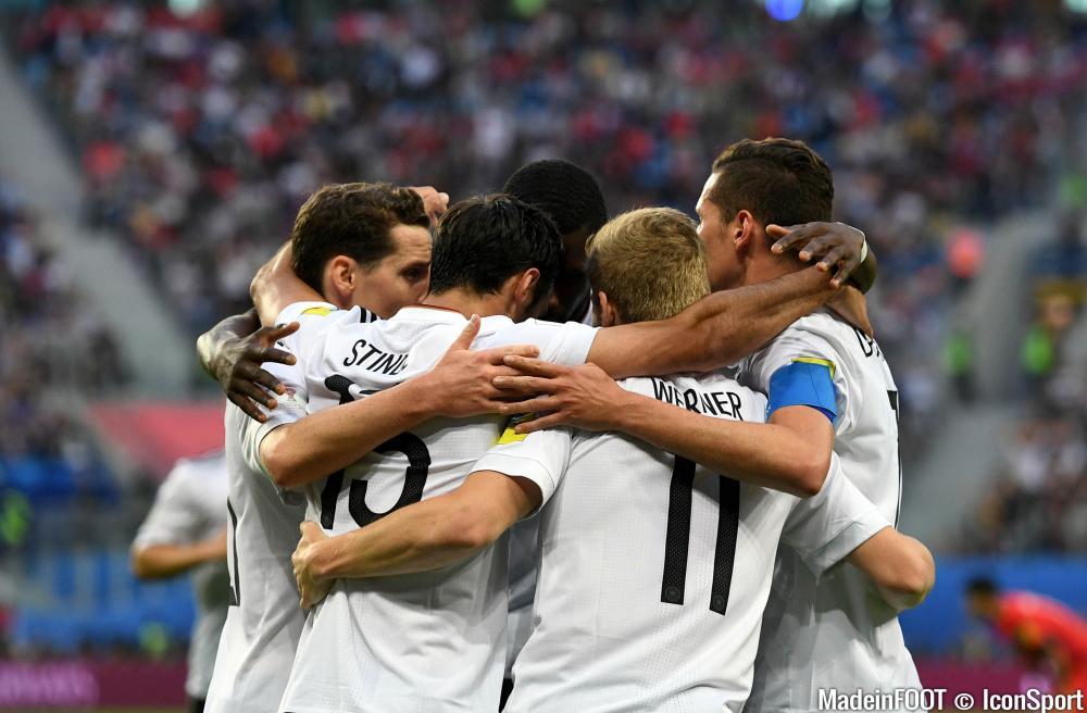 L'Allemagne a fait tomber le Chili dimanche soir