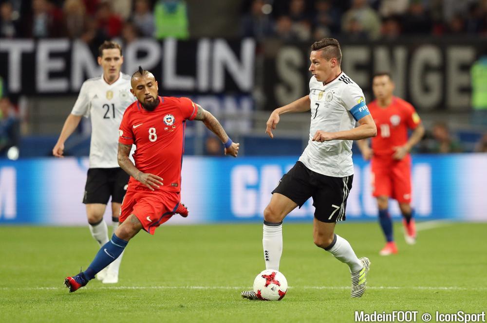 L'Allemagne et le Chili s'opposent en finale à 20 heures