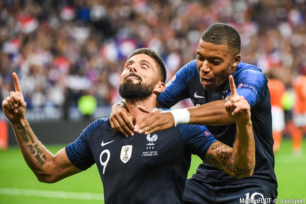 De l'eau dans le gaz entre Kylian Mbappé et Olivier Giroud