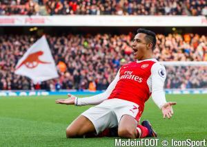 Alexis Sanchez, l'attaquant londonien