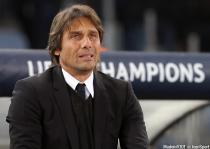 Antonio Conte during the Champions League match between AS Roma and Chelsea on 31th October 2017