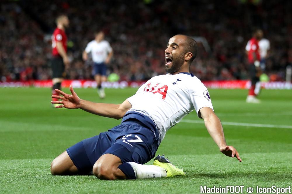 Lucas, nouveau héros de Tottenham