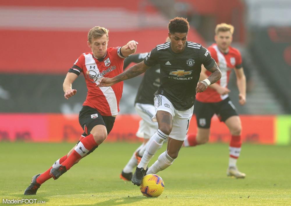 Manchester United s'est imposé face à Southampton (2-3), ce dimanche après-midi en Premier League.
