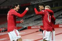 Cavani (Manchester United), Rashford (Manchester United)