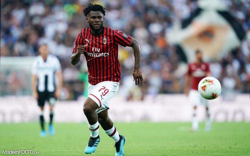 Franck Kessié sous le maillot de l'AC Milan