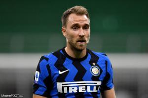 Eriksen sous le maillot de l'Inter Milan