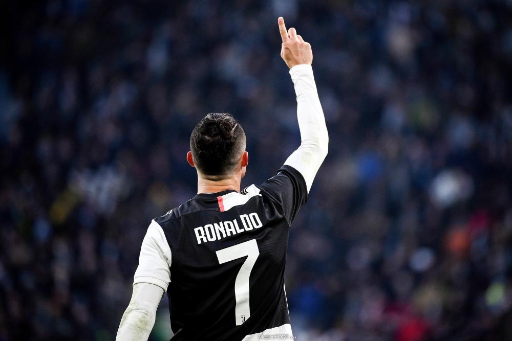 Cristiano Ronaldo sous les couleurs de la Juventus