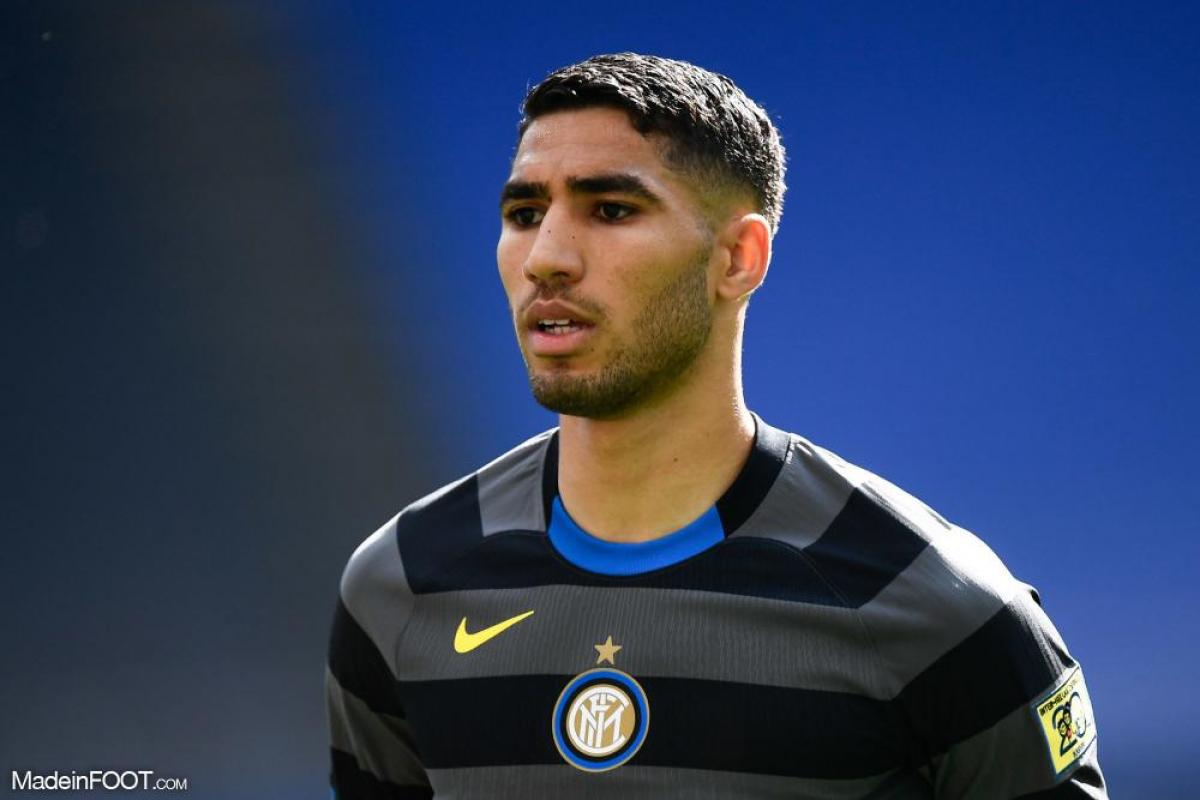 Hakimi avec l'Inter Milan